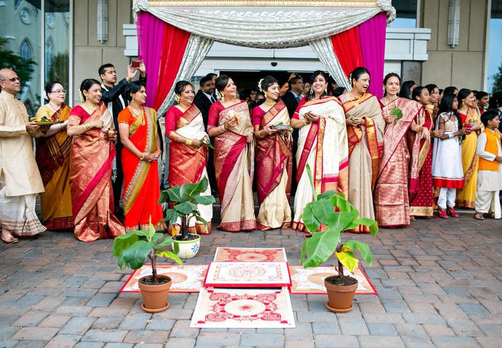 South Asian Wedding Party